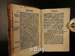 1492 Bernardus Silvestris + Bernard of Clairvaux Incunable Medieval Manuscript