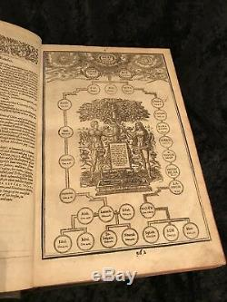 1611 FIRST ED GREAT SHE Authorized KING JAMES BIBLE Ornate Binding COMPLETE Rare