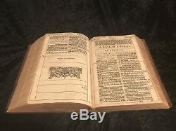 1611 First Edition, First Issue KING JAMES BIBLE Great He RARE Provenance ROYAL