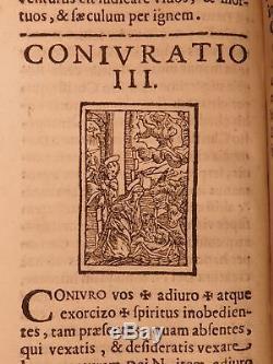 1618 1ed EXORCISM Manual Demon Possession Occult Esoteric SATAN Carlo Oliverio
