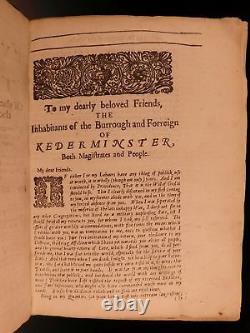 1669 PURITAN Saints Everlasting Rest Richard Baxter Bible Devotional on HEAVEN