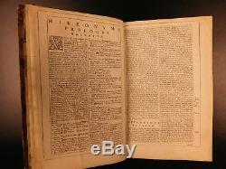 1682 Biblia Sacra Vulgate Holy Bible Cologne Netherlands Sixtus V Clement VIII