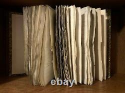 1688-1750 PARCHMENT MANUSCRIPTS BOOK Compendium of Antique Documents