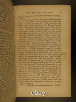 1854 1ed African SLAVE TRADE Capt Theodore Canot Africa Slavery Sierra Leone