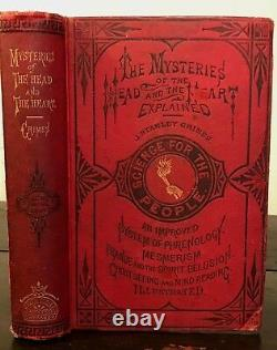 1875 MYSTERIES OF THE HEAD & HEART EXPLAINED, Graves, 1st/1st SPIRITS GHOSTS