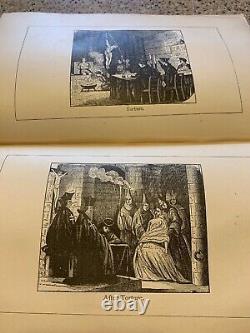 1880 Scarlet Book Of Freemasonry Masonic History Of Masons