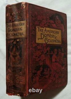 1890 Antique Victorian Household Home Guide Cookbook Decoration Social Etiquette