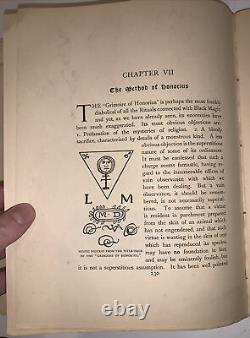 1898, 1st, A E WAITE, THE BOOK OF BLACK MAGIC AND OF PACTS, OCCULT, 1 of 500