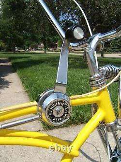 1969 Schwinn Lemon Peeler Krate Stingray 1st Edition Original Owner AWESOME