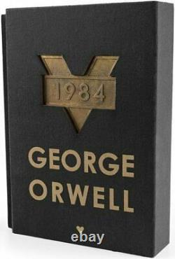 1984 Special Collector's Black Edition VERY RARE Turkish Novel G ORWELL