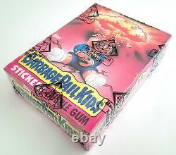 1985 Garbage Pail Kids Original 1st Series 48 Wax Pack Box GPK OS1 BBCE SEALED