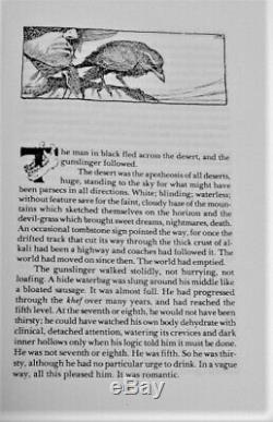1988 Stephen King The Dark Tower The Gunslinger Orange Proof 1 Of 8 Pristine