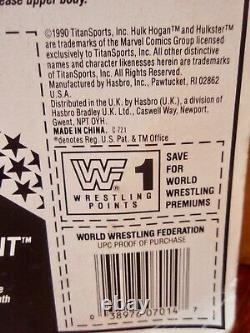 1990 Hasbro WWF Series 1 U. S. Blue Card Andre The Giant Action Figure MOC