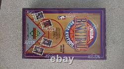 1991-92 Upper Deck BASKETBALL 36 PACK FOIL BOX SEALED inaugural first edition