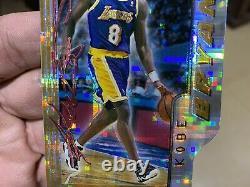 1996-97 Bowman's Best Atomic Refractor Kobe Bryant Rookie Card #BP10 Die-Cut SSP
