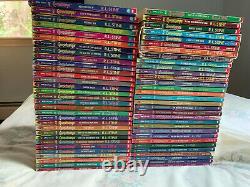 1-62 COMPLETE Set of original Goosebumps Books Original Covers R. L. Stine