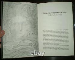 1 of 50, DELUXE LIMITED ED, GRIMOIRE OF THE BARON CITADEL, OCCULT, METAPHYSICAL
