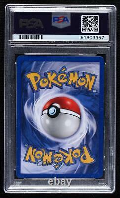 2000 Pokemon Neo Genesis 1st Edition Typhlosion #17 PSA 9 3q4
