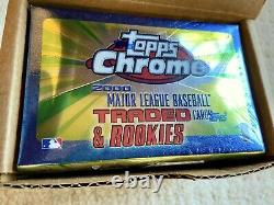 2000 Topps Chrome Traded & Rookies Factory-sealed 135-card Set
