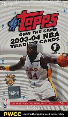 2003-04 Topps 1st Edition BBall Factory Sealed Box, 20ct Packs, LeBron James RC
