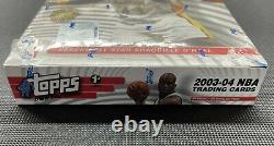2003-04 Topps 1st Edition Basketball Box Factory Sealed Lebron James RC Year