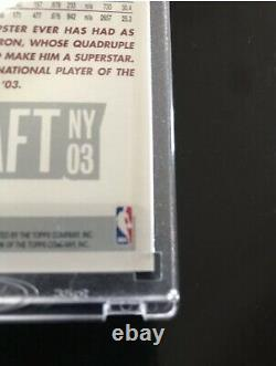2003-04 Topps Lebron James Rookie 1st First Edition SP RC Non Auto RARE