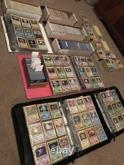 200 Lot PLAYED Original Vintage Rare Pokemon Cards Holo 1st Edition Shadowless