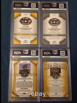2015 Sam Darnold 1/1 Army Xrc Rc Auto Gold Psa Rookie Patch Autograph Collection