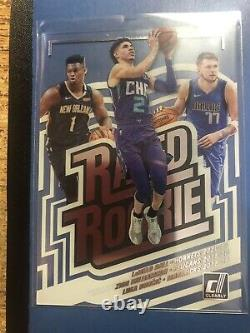 2020/21 Clearly Donruss LaMelo Ball Zion Williamson Luka Doncic Rated Rookie Ssp