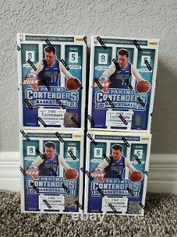 2021 NBA Panini Contenders Blaster Box Factory Sealed LOT OF 4 IN HAND