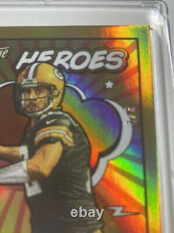 2021 Prestige HEROES AARON RODGERS AUTOExtremely Rare 1/1 On eBay #3/3