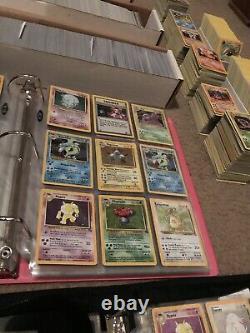 50 Card Lot Original Vintage 1999 WOTC Pokemon Cards! Holos, Rares, 1st Editions