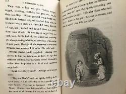 A Christmas Carol, Charles Dickens 1844, First Form V. Early Edition Chapman&Hall