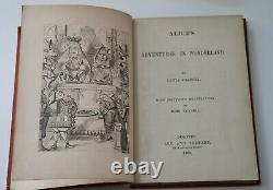 Alice's Adventures in Wonderland, by Lewis Clark 1st USA Edition, 1869