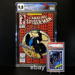 Amazing SPIDER-MAN #300 Origin & 1st Full Appearance VENOM CGC 9.8 WHITE