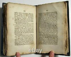 Antique 1831 LECTURES ON WITCHCRAFT Salem Witch Trials CHARLES UPHAM Occult Book