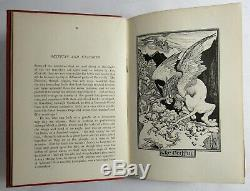 Antique 1899 THE RED BOOK OF ANIMAL STORIES Children's ANDREW LANG Art Nouveau