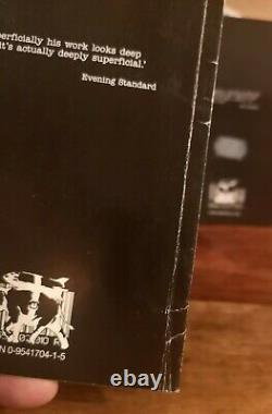BANKSY Books Rare Existencilism & Banging Your Head Against a Brick Wall