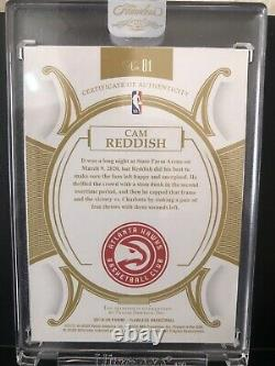Cam Reddish 2019-20 Flawless Rookie Platinum Diamond 1/1 (One of One)ENCASED