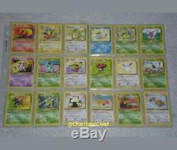 Complete First Edition Jungle Set 64/64 Original Pokemon Card Collection 1st Ed