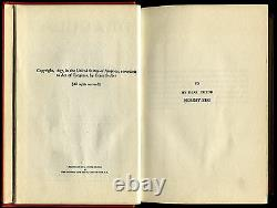 Dracula, Bram Stoker (Grosset 1931) 1st Ed. Thus, SIGNED/DATED 1931 Bela Lugosi