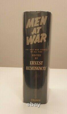 Ernest Hemingway, Men At War, 1st/1st, Signed And Inscribed