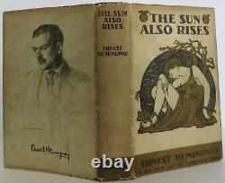 Ernest Hemingway / The Sun Also Rises Signed 1st Edition 1926 #2003012
