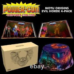 Evil Horde 4 Pack MOTU Origins Power-Con 2021 (pre-order)