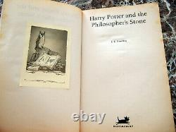 First Edition! Harry Potter &the Philosopher/Sorcerer's Stone, 1997Wendy Cooling