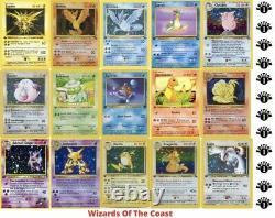 GRADED 1st Edition POKEMON CARD Authentic Original Pokémon From 1998 2003