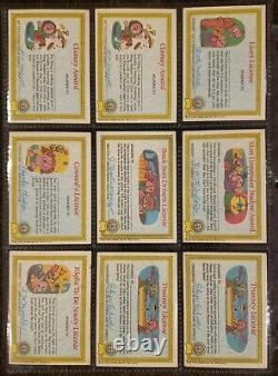 Garbage Pail Kids Original Series 1 GPK 1985 OS1 Matte 31-Card Set + 5 Wax Packs