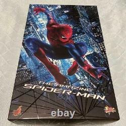 Hot Toys Movie Masterpiece The Amazing Spider-Man Figure USED from Japan