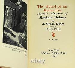 Hound of the Baskervilles ARTHUR CONAN DOYLE First American Edition 1902 1st