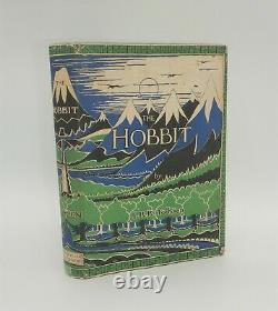 J. R. R. Tolkien, The Hobbit, 1937, 1st Edition, 2nd with Fine Original Jacket